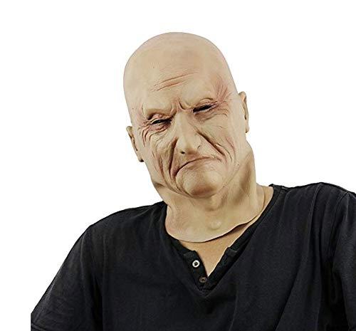 FENGT Halloween Latex Kopf Maske Grausame Zombie Kostüm -