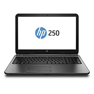 """HP 250 N2840 15.6 4GB/500 PC Portable 15,6"""" Noir réglisse (Intel Celeron, 4 Go de RAM, 500 Go, Intel HD Graphics, Windows 8.1)"""