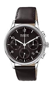 Dugena Premium - Reloj de cuarzo para hombre, con correa de cuero, color negro de Dugena Premium