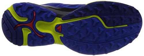 Salomon Wings Pro G, Scarpe sportive, Uomo Blue/Cobalt/Gecko Green