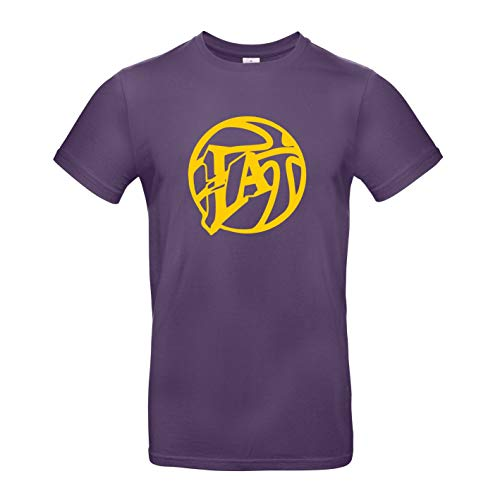 Russell Los Angeles Lakers Logo NBA Basketball T-Shirt (L)