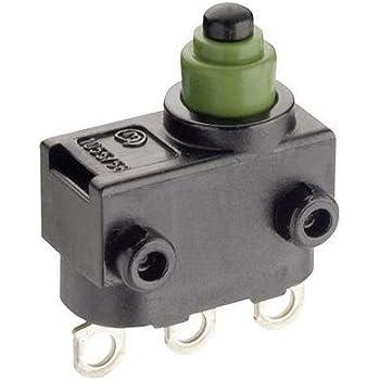 Marquardt Microrupteur 1058.0653 24 V//DC 2 A 1 x On// On IP67 /à rappel 1 pc s