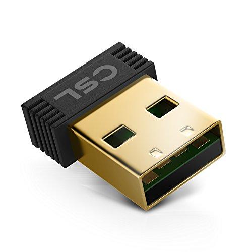 CSL - Wireless USB Adapter   mini Adapter Stick / Wireless LAN / WiFi Dongle   2