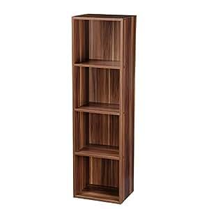 5 Tier Wooden Bookcase