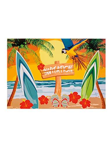 Boland-Beach Party Einladungen, Mehrfarbig, 52473