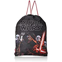 Star Wars Episode 7 Bolsa con cordn, Negro
