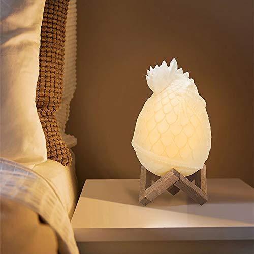 JohnnyLuLu Drachenei Kreative Tischleuchten Dinosaurier 3D Gedruckt LED Nachtlampen mit Fernbedienung & Touch Control 16 Farben, Dekorative Lampe für Geschenke und Ornamente (Dragon Touch-lampe)