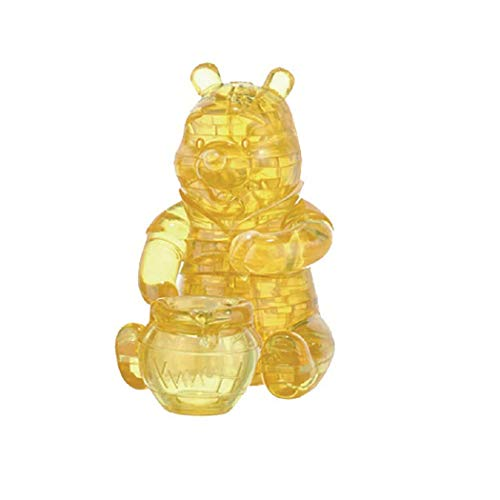 University Games 3-D Licensed Crystal Puzzle-Winnie The Pooh