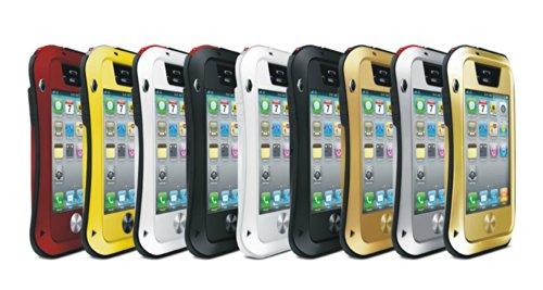 """BAMBOO - Apple iPhone 6 Plus 5.5"""" Étui Housse - Luxe Waistline Style Résistant Aux chocs Preuve Pluie Robuste Métal Cas Couverture Étui - Jaune Jaune"""