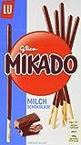 Mikado Milchschokolade - Kekse überzogen mit Schokolade (49%) - 24 x 75g