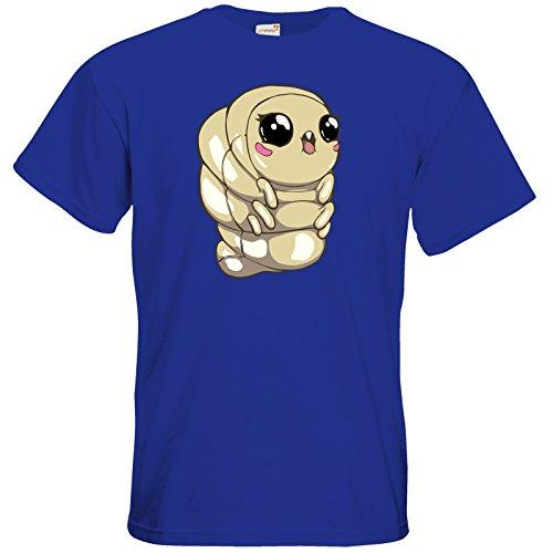 getshirts - Daedalic Official Merchandise - T-Shirt - Deponia Doomsday - Melinda Royal Blue