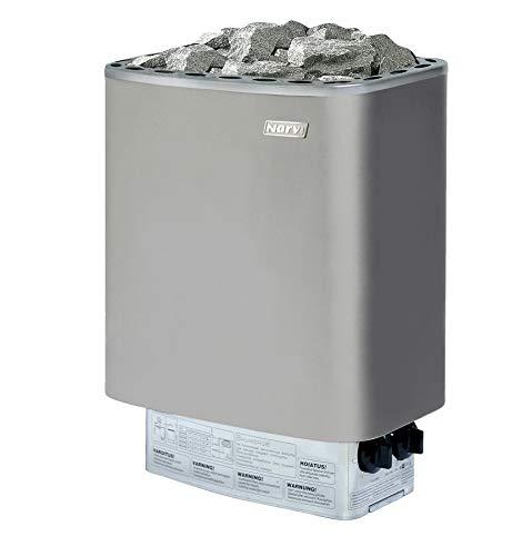 FinnTherm Fass-Sauna Sam, Premium-Thermoholz, inkl. Elektro-Ofen (6 kW) - 5