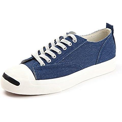 Zapatos de otoño/Zapatos planos de la cinta de la cabeza ronda/Modelos de pareja