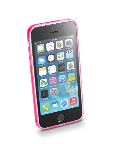 Cellular Line Fluo 4 Cover Blue - mobile phone cases Pink