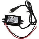 Frais De Voiture Module Convertisseur De Courant Continu 12v-5v Micro Usb Adaptateur De Sortie 3a 15w