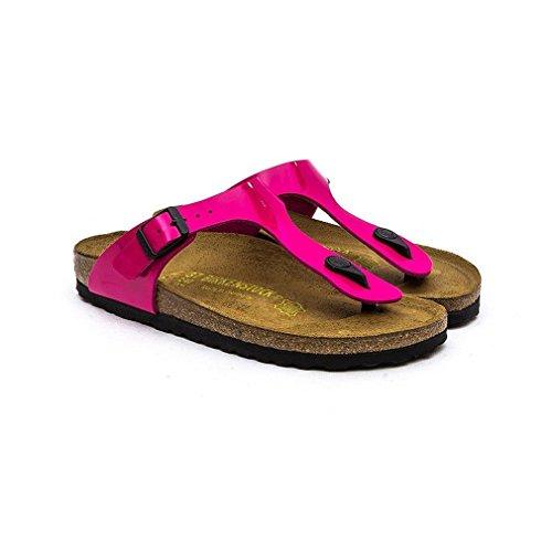 Birkenstock Gizeh Birko-Flor, Sandali Unisex adulto Pink