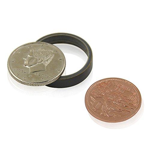 Strumento magico di trucchi di manifestazione della fase teenager delle monete magnetiche della lega di soda e di scotch