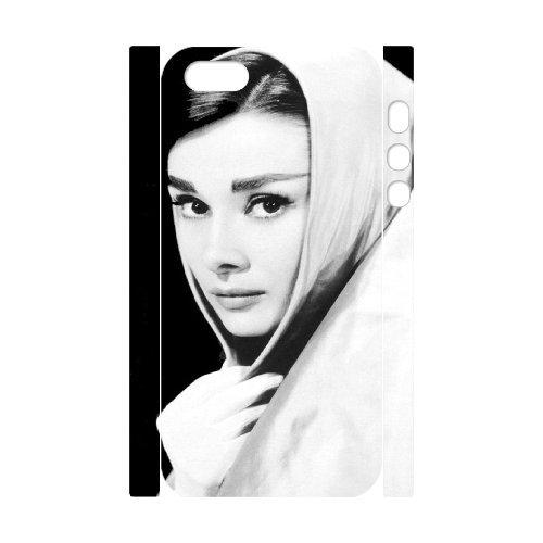 LP-LG Phone Case Of Audrey Hepburn For iPhone 5,5S [Pattern-6] Pattern-4