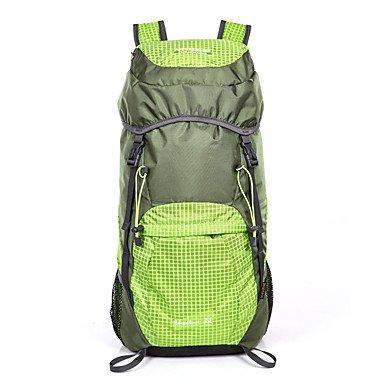 35 L Rucksack Klettern Freizeit Sport Camping & Wandern Wasserdicht Staubdicht tragbar Multifunktions Purple