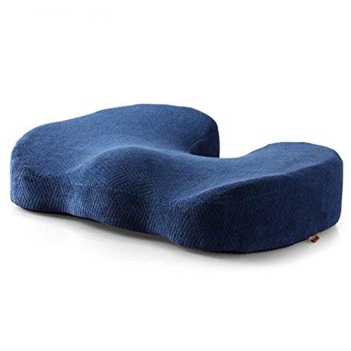 Kissen Speicher Baumwolle Komfort gepolsterte Kissen Auto Sofa Computer Kissen 44 * 34 * 9,5 cm ( Color : Hidden blue ) (Sofa Polyester Gepolstert)