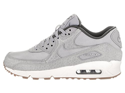 nike damen air max 90 premium sneaker grau