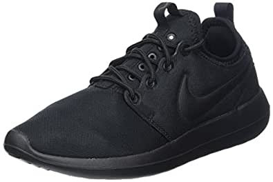 new concept f5f3e bbd1a Nike Women s Roshe Two Trainers, Black (Black Black), ...