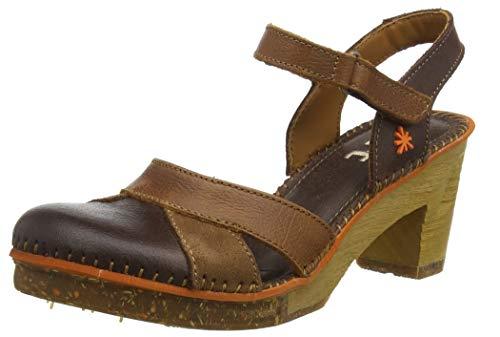 Art Damen 0313 Memphis Brown-Cuero/Amsterdam Slingback Sandalen, Braun, 37 EU - Art Schuhe