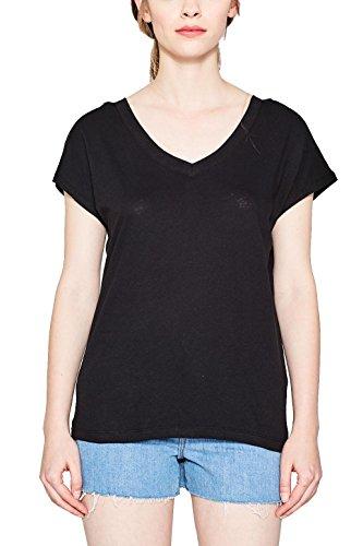 ESPRIT, T-Shirt Donna Nero (Black 001)