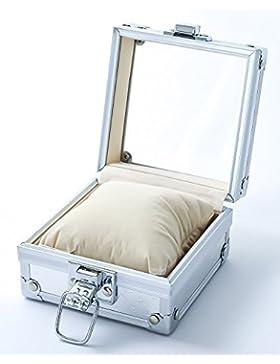 Bellos Uhrenbox Uhrenkoffer mit Kissen für Armbanduhren