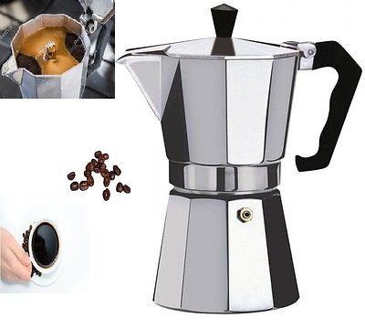 41i3UwKsMYL - SMARTSTORE 6 Cup Italian Espresso Stove TOP Coffee Maker -Continental Percolator Pot Jug, Camping, Caravan, Brewing Rich…