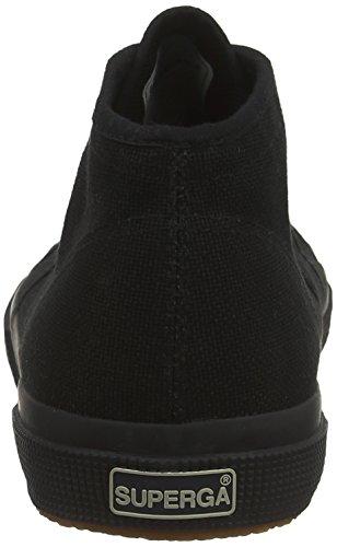 Superga 2754 Cotu U Sneaker Unisex – Adulto Nero schwarz total Black