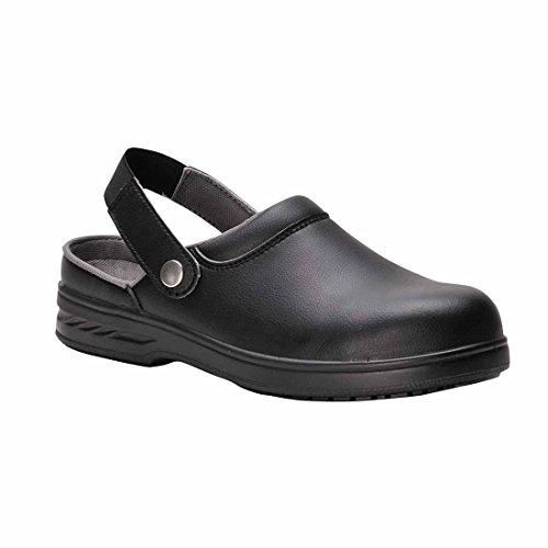 Steelite Safety Clog SB AE WRU–Chaussure de sécurité, Taille Noir
