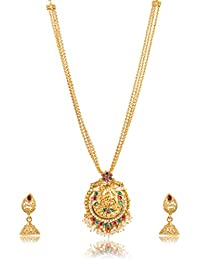 Fashion For Sure Gold Plated Multi-Strand Necklace Set For Women (N76)