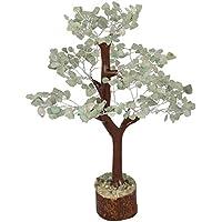 Crocon - Bonsái de la fortuna con gemas curativas naturales para atraer la buena suerte, riqueza y prosperidad, regalo espiritual de 25,4-30,5cm