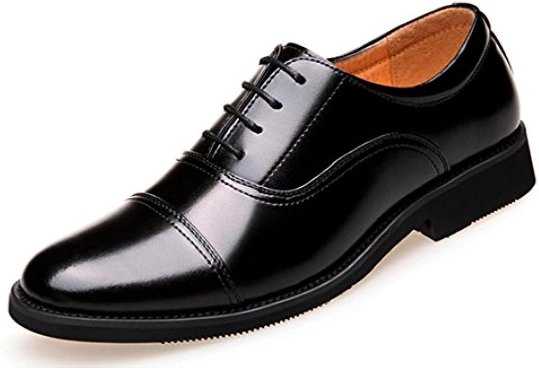 Zapatos De Vestir Casuales De Los Hombres De CHENSH Zapatos De Boda Casuales Al Aire Libre,Black-41  -