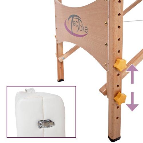 TecTake Massageliege –  7,5cm Polsterung - 5