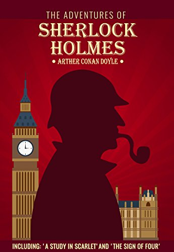 4' Grapevine (The Adventures of Sherlock Holmes: Including 'A Study in Scarlet' and 'The Sign of Four' (English Edition))