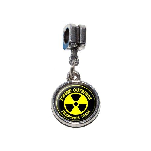 Zombie Outbreak Response Team–Strahlung Symbol–Gelb auf Schwarz italienischen -