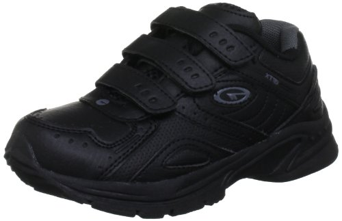 Hi-Tec Xt115 Ez Junior, Chaussures Multisport Outdoor mixte enfant Noir (Black/charcoal 021)