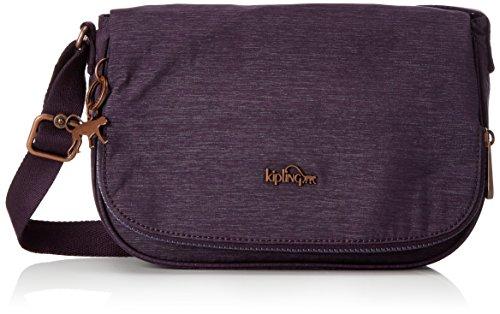 Kipling Damen EARTHBEAT S Umhängetasche, Violett (Spark Aubergine), 26x17x7 cm