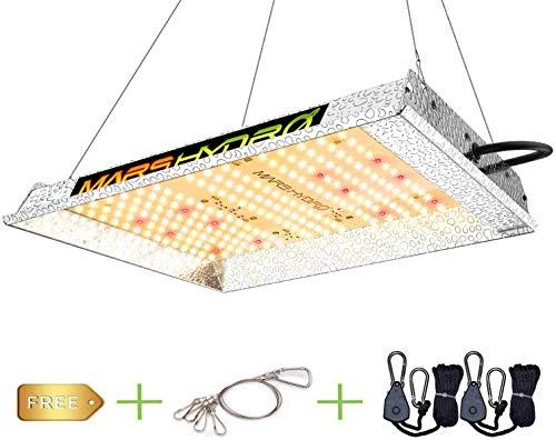 MARS HYDRO LED Grow Lampe TS 600 W a Spettro Completo Lampada per Piante LED Grow Light Lampada di Crescita per Piante da Interni Semi germogli Piante Verdure e Fiori per Cera Tenda