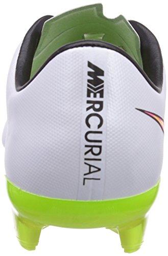 Nike Mercurial Veloce Ii Fg, Football Compétition Homme Blanc (Blanc/Jaune/Rose)