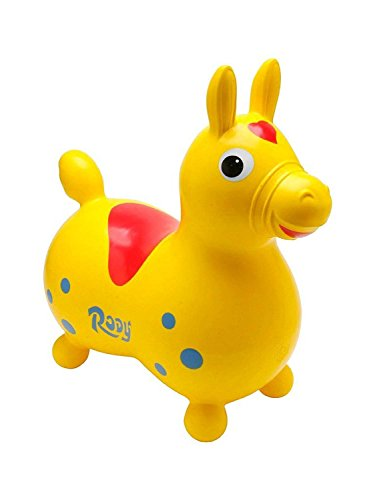Gymnic - 70.12 - Cheval gonflable - Rody en jaune