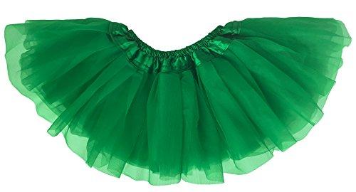 Dancina Baby und Neugeborenen Tüllrock Tutu für 0 bis 24 Monate Grün 0-5 (Halloween Baby Billig Kostüme)