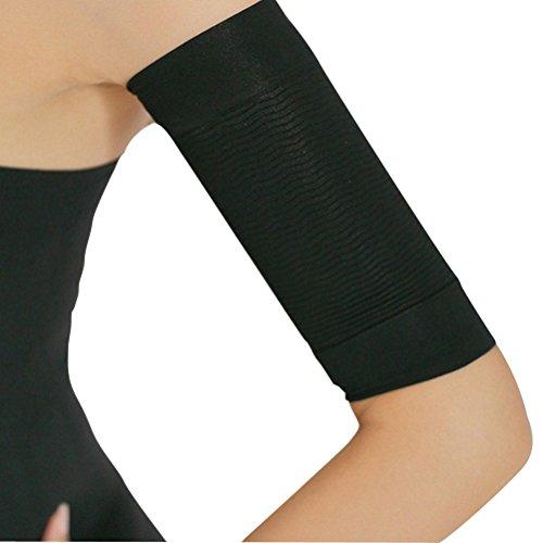 ultnice perdita di peso braccio shaper bruciare fat fat buster off cellulite dimagrante shaperwear 1 paio (nero)