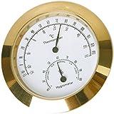 Termómetro e Higrómetro de Aleación Redondo Para Volín