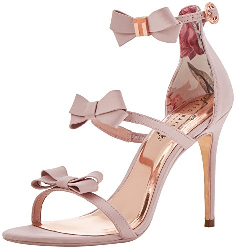 Ted Baker Nuscala, Sandales Bride Cheville Femme Rose (Light Pink #ffc0cb)