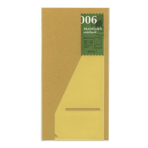 Midori Traveler's Notebook (Refill 006) Pocket Seal L