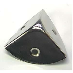 Coin pour malle / coffre an acier - 30 mm - Lot de 4 - STRAUSS 244876