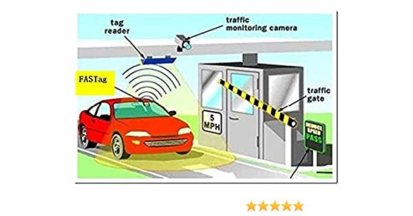 Indul Fastag Plastic Electronic For Car Amazonin Electronics
